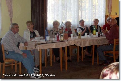 Setkání důchodců